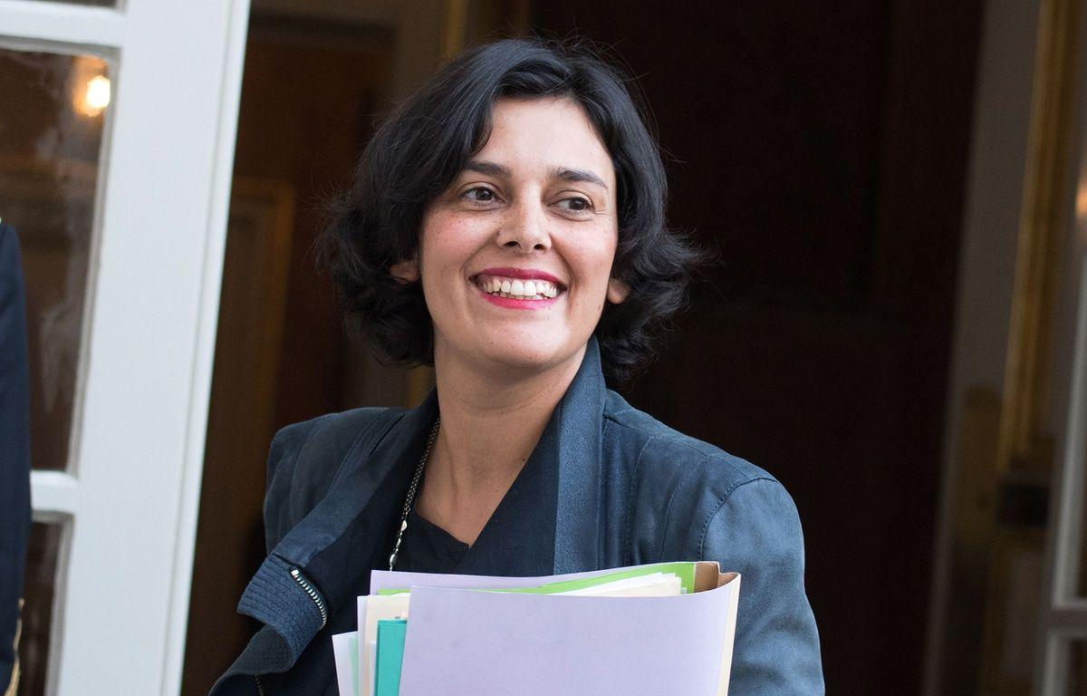 Myriam El Khomri, la ministre du Travail. – PDN/SIPA