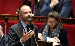 Le Premier ministre Edouard Philippe à l'Assemblée le 6 décembre 2017.