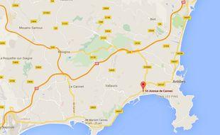 Antibes, ville où les commerçants se disent victimes de l'escroquerie.
