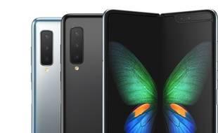 La Galaxy Fold, le smartphone pliable lancé à 2020 euros.