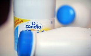 Des bouteilles de lait Candia (image d'illustration).