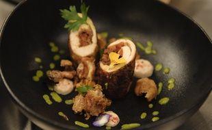 Un poulet basquaise revisité dans le premier épisode de la saison 9 de «Top Chef».