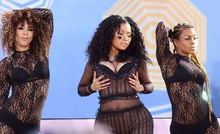 Nicki Minaj sur scène fin juillet 2015