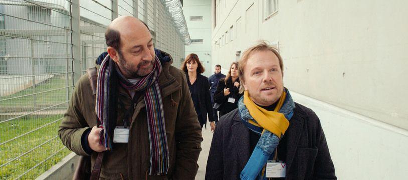 Kad Merard et Laurent Stocker dans « Un triomphe » d'Emmanuel Courcol