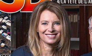 Valérie Trierweiler en une de «VSD», le 25 février 2016.