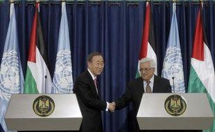Les dirigeants palestiniens vont lancer à l'ONU une campagne pour obtenir le statut d'Etat non membre, avec pour objectif une majorité d'au moins 150 pays, a annoncé jeudi le négociateur Saëb Erakat.