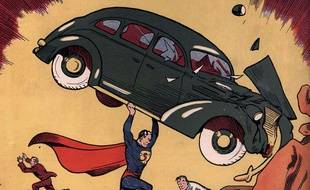 Superman le premier comic book vendu 3 2 millions de dollars aux ench res - Superman en voiture ...