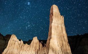 Pluie de météores au-dessus du Nevada, le 12 août 2013.