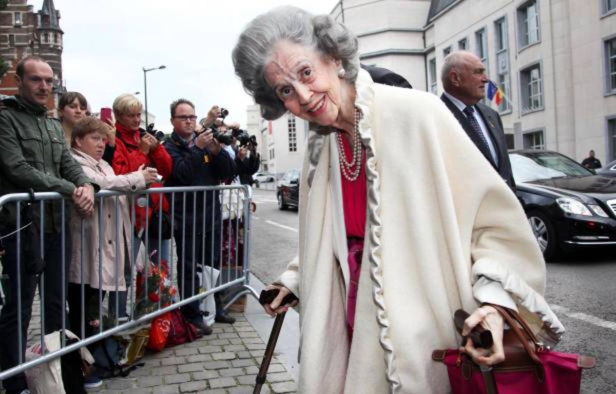 La reine Fabiola. – VIRGINIE LEFOUR / BELGA / AFP