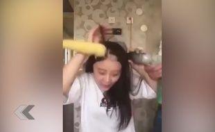 FAIL : Elle essaie de manger du maïs avec une perceuse - Le Rewind (vidéo)