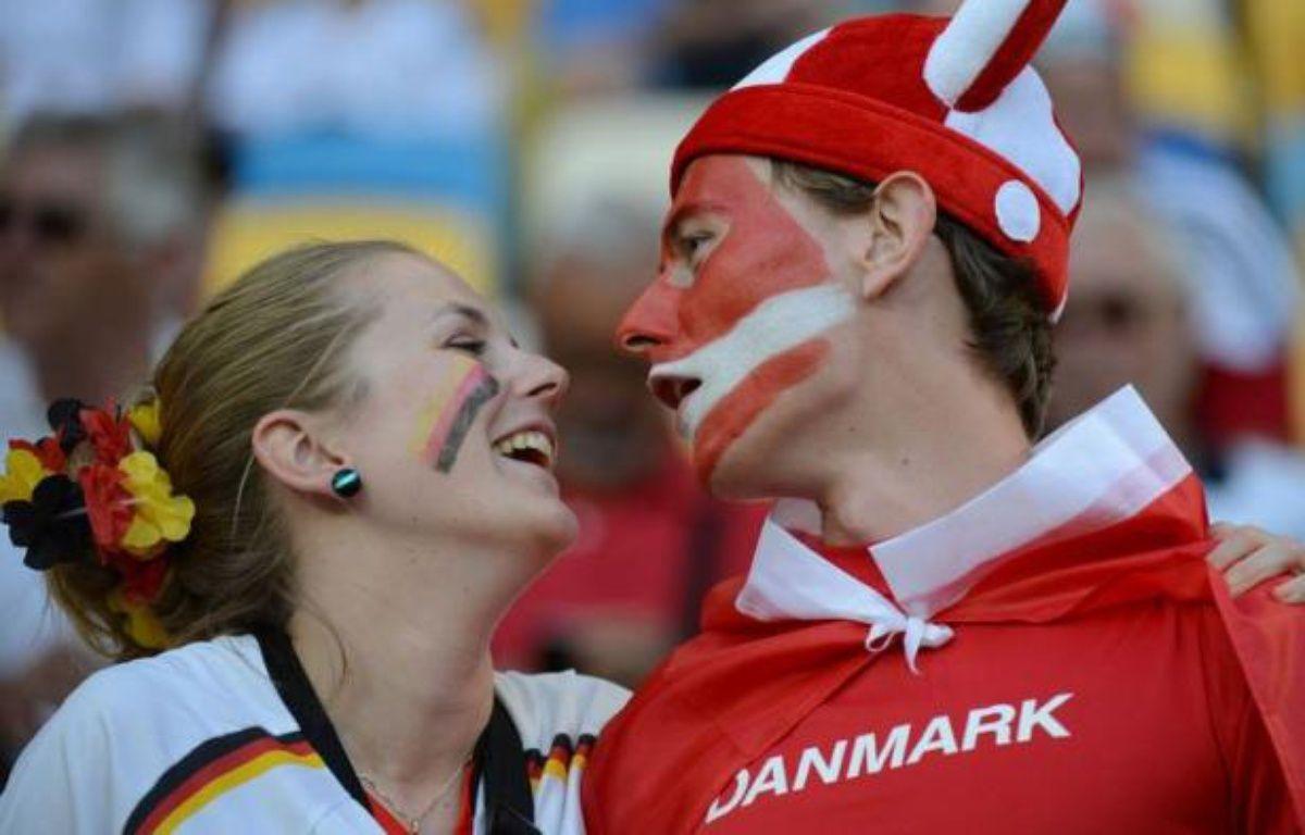 Lars Bender a été aligné comme arrière droit dans l'équipe d'Allemagne à la place de Jérôme Boateng (suspendu), dimanche à Lviv (18h45 GMT) contre le Danemark, où Dennis Rommedahl (forfait) est remplacé par Jakob Poulsen. – Damien Meyer afp.com