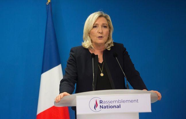 Coronavirus: Marine Le Pen accuse le gouvernement de mentir sur «absolument tout»