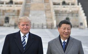 Les présidents américain et chinois Donald Trump et Xi Jinping