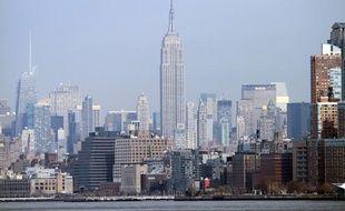 Vue de New York.