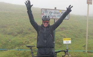 Ludovic Chorgnon a réussi son défi dans la nuit de samedi à dimanche autour de Morillon.