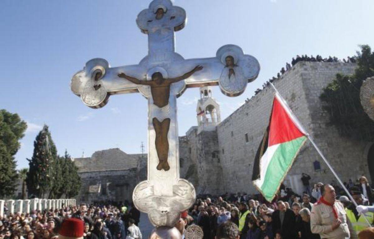 L'inscription de la basilique de la Nativité de Bethléem comme premier site palestinien à l'Unesco sera la principale controverse à l'ordre du jour de la session annuelle du Comité du Patrimoine mondial qui se réunit du 24 juin au 6 juillet à Saint-Pétersbourg (Russie). – Musa al-Shaer afp.com