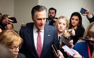 Plusieurs sénateurs républicains, dont Mitt Romney (photo), ont suggéré qu'ils pourraient voter en faveur d'une audition de John Bolton au procès de Donald Trump.
