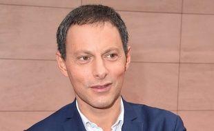 Marc-Olivier Fogiel a la conférence de rentrée de RTL, le 13 septembre 2017.