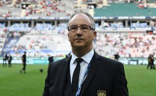 Saïd Chabane, le président d'Angers, ici le 27 mai 2017.
