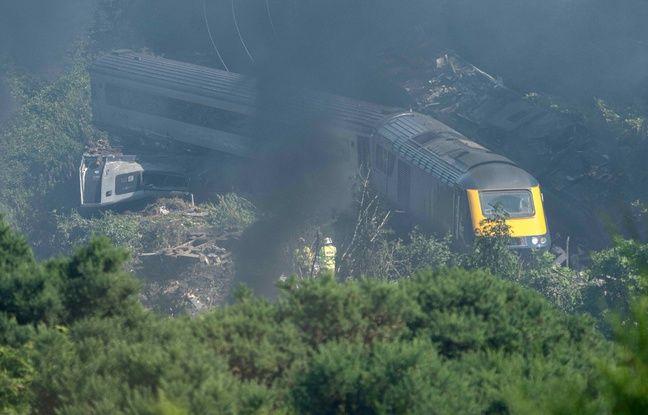 Écosse : Le déraillement mortel dû à un glissement de terrain