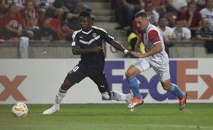 Samuel Kalu et ses coéquipiers n'ont rien montré face au Slavia Prague.
