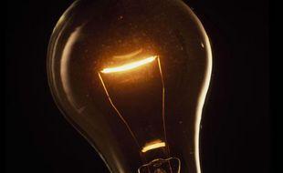 Illustration d'une ampoule allumée.