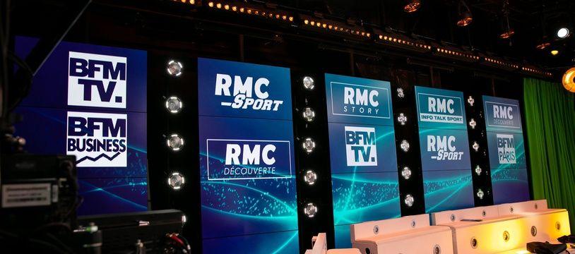 BFM TV et les autres chaînes Altice (Illustration)
