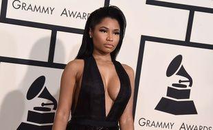 La rappeuse Nicki Minaj aux Grammy Awards 2015.
