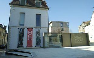 L'entrée du musée Camille Claudel, à Nogent-sur-Seine (Aube).