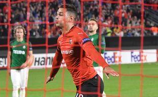 Hatem Ben Arfa a signé un retour victorieux sous le maillot rennais en marquant le penalty de la victoire.