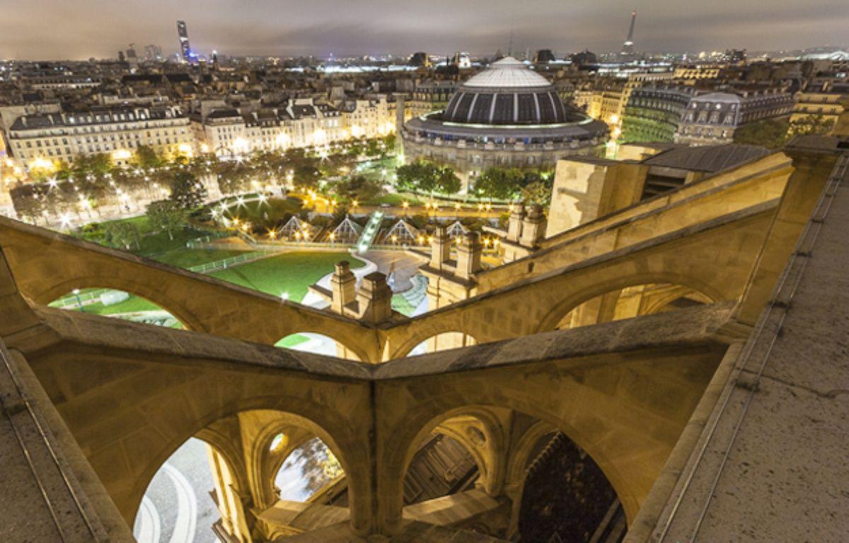 La vue depuis l'église Saint-Eustache dans le 1er arrondissement de Paris. – P-H MULLER
