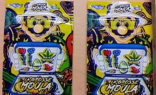 Des sachets de cannabis avec un packaging Mario Bros.