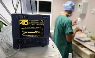 Un service de cardiologie dans un CHU en France