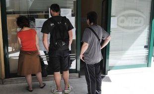 Plus d'un quart de la population active en Grèce était au chômage au mois de juillet, le taux s'élevant à 25,1%, contre 17,8% un an plus tôt et 24,8% en juin (chiffre révisé), a annoncé jeudi l'Autorité des statistiques grecques (Ase).