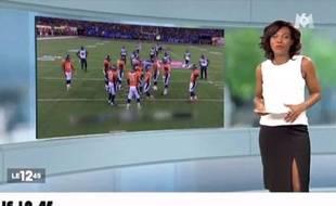 Image extraite du zap télé du lundi 3 février