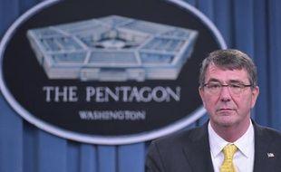 Le secrétaire américain à la défense Ashton Carter au Pentagone le 7 mai 2015