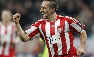 Franck Ribéry, le 8 décembre 2010 face à Bale