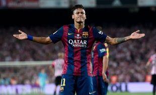 Neymar lors de Barça-Athletic Bilbao le 30 mai 2015.