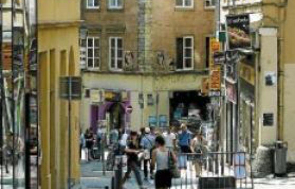 La plupart des boutiques ouvriront rue Romarin (ci-contre). –  C. VILLEMAIN / 20 minutes