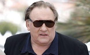 Gérard Depardieu au Festival de Cannes 2015.