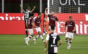 La Juve s'effondre à Milan