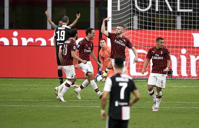 Serie A : La Juve explose en vol à Milan malgré un bijou d'Adrien Rabiot