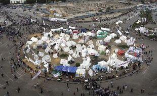 Rassemblement des opposants à Mohamed Morsi, place Tahrir, au Caire, le 4 décembre 2012.