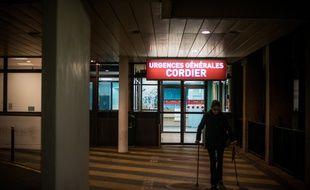 Le service des urgences de l'hôpital de la Pitié-Salpêtrière à Paris.