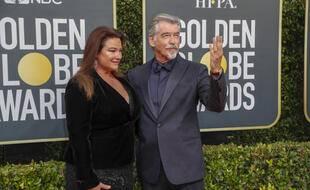L'acteur Pierce Brosnan et son épouse Keely