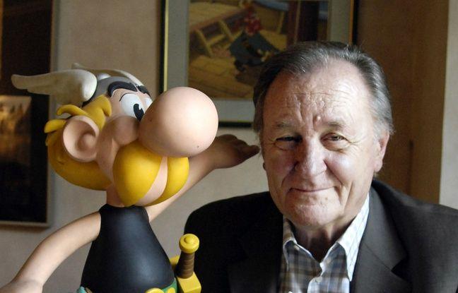 Uderzo, le dessinateur d'Astérix, est mort