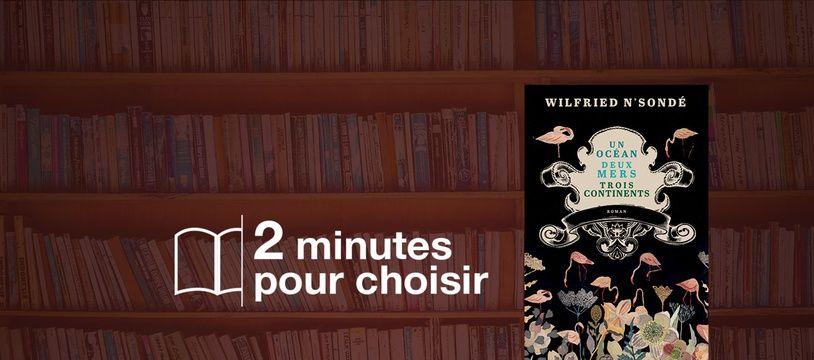 «Un océan, deux mers, trois continents» par Wilfried N'Sondé chez Actes Sud (20€, 272 p.).