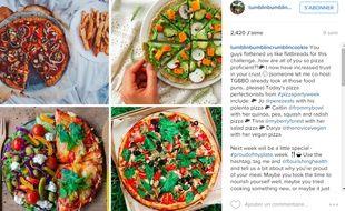 Sur leurs profils Instagram, les jeunes filles postent des photos de leurs repas.
