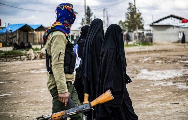 648x415 femmes soupconnees appartenir daesh retenues camps autorites syrie