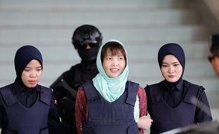 Doan Thi Huong, détenue dans l'enquête sur l'assassinat à l'agent neurotoxique en 2017 du demi-frère du dirigeant nord-coréen Kim Jong-un, a été libérée.